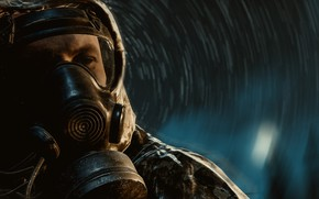Picture gas mask, Stalker, Chernobylite