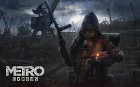 Picture art, Metro, 4A Games, Exodus, Metro: Exodus, Artem
