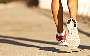 Picture feet, sport, running, sneakers
