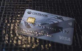 Picture photo, map, the Bank, visa, пластиковая карта, платежная ката, сбер, сбербанк