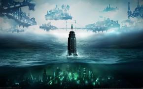 Picture bioshock, bioshock 2, games, bioshock infinite, Rapture, bioshock infinite burial at sea