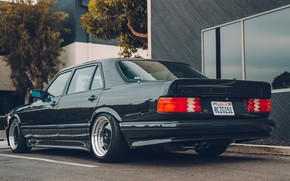 Picture Mercedes-Benz, AMG, W126, 560SEL