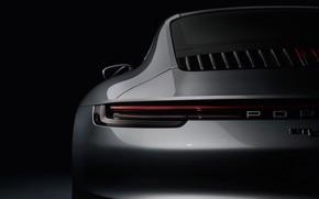 Picture headlight, 911, Porsche, Carrera S, 2019