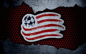 Picture wallpaper, sport, logo, football, New England Revolution