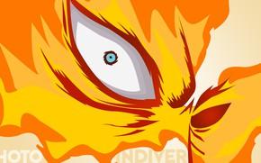 Picture eyes, fire, Boku no Hero Academy, My Hero Academia, My Hero Academy, Todoroki