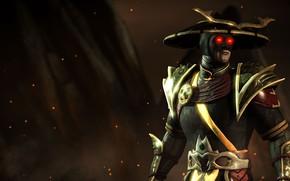 Picture god of thunder, Mortal Kombat X, dark Raiden