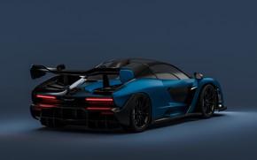 Picture rendering, McLaren, supercar, 2018, Senna, by Sebastian Ladan
