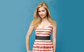 Picture look, figure, actress, singer, hair, Dianna Agron, Dianna Agron