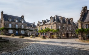 Picture the city, street, France, Locronan
