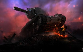 Picture tanks, WORLD OF TANKS, KV-2 (R), Valhallan Ragnarok