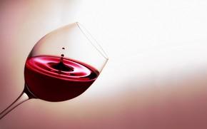 Picture macro, wine, glass, splash