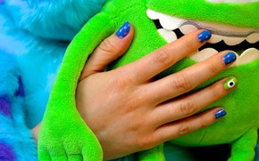 Picture toy, hand, manicure