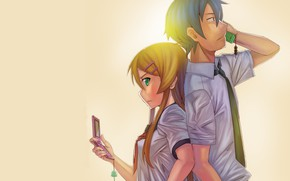 Picture anime, art, two, Oreimo