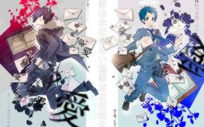 Picture letters, Durarara, Durarara, Of Izaya Orihara, Mikado Ryugamine