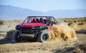 Picture skid, Honda, 2018, Rugged Open Air Vehicle Concept
