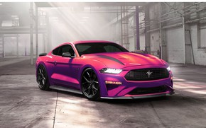 Picture Mustang, Ford, Auto, Machine, Purple, Ford Mustang, Transport & Vehicles, 2020 Ford Mustang Ecoboost, Ayhan …