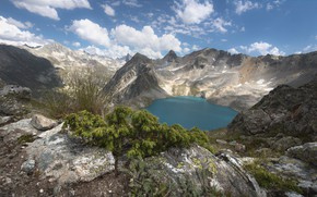 Picture landscape, mountains, nature, lake, beauty, panorama