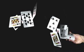 Picture card, focus, deck