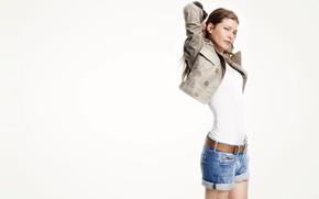 Picture pose, model, Louise Pedersen