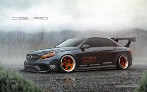 Picture Mercedes-Benz, Auto, Machine, Mercedes, AMG, Rendering, Mercedes-Benz E 63 AMG, E 63, Dmitry Strukov, Dizepro, …