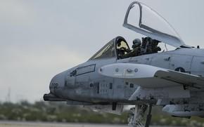 Picture Lantern, USAF, Pilot, Attack, A-10C Thunderbolt II, Cockpit