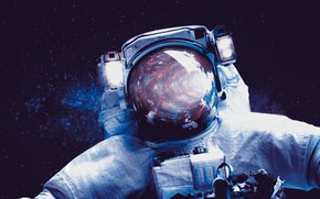 Picture space, astronaut, the suit