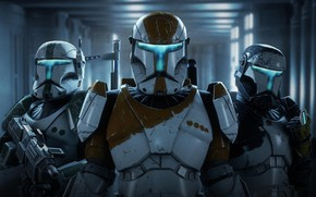 Picture Star Wars, soldiers, Star Wars