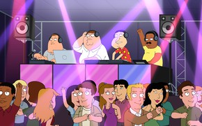 Picture Music, People, Family guy, Family Guy, Cartoon, Brown, Cleveland, Peter, Joe, Cleveland, Joe, Glenn, Peter …
