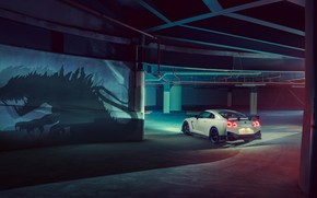 Picture Nissan, GT-R, Godzilla, R35, Nismo