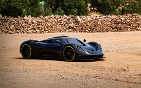 Picture Prototype, carbon fiber, 2020, V8, 2021, 715 HP, ARES Design, S1 Project