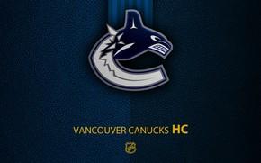 Picture wallpaper, sport, logo, NHL, hockey, Vancouver Canucks