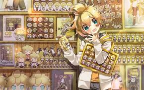Picture Boy, Shop, Vocaloid, Len