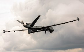 Picture UNITED STATES AIR FORCE, Unmanned aerial vehicle, MQ-9 Reaper, reconnaissance and strike UAVs