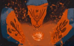 Picture shaman, ночной огонь, древние рисунки, древние камни