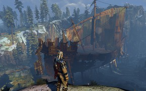 Picture ship, armor, the Witcher, witcher 3