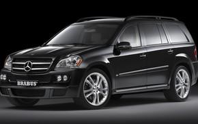 Picture Mercedes-Benz, Brabus, X164, The GL-class, full-size premium SUV segment