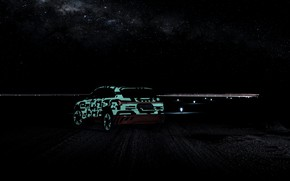 Picture the sky, night, Audi, 2018, E-Tron Prototype