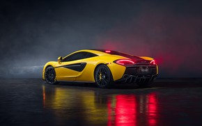 Picture McLaren, supercar, rear view, MSO, 570S, by Jimmy Zhang