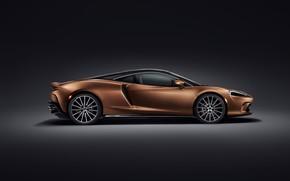 Picture McLaren, supercar, side view, 2019, McLaren GT
