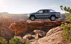 Picture open, Volkswagen, pickup, Ultimate, Amarok, 2014