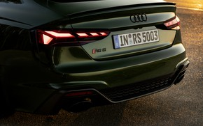 Picture Audi, tail lights, feed, RS 5, 2020, RS5 Sportback