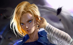 Picture Girl, Look, Art, Dragon ball