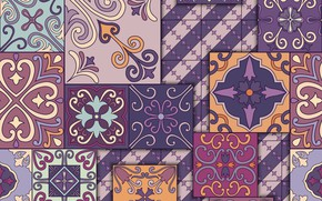 Picture flowers, background, pattern, texture, ornament