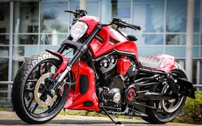 Picture Harley Davidson, Harley-Davidson, Motorbike, Thunderbike, VRSC, By Thunderbike, RED DEVIL, Custombike