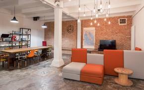 Picture design, style, interior, sofa, living room, dining room, loft, by Nomade Architettura Interior Design, Loft …
