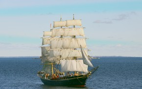 Picture ship, Norway, sailing