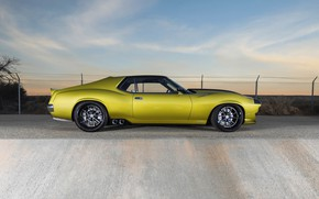 Picture Wheel, Profile, Drives, Muscle car, 1972, Classic car, Sports car, AMC, AMC Javelin, By RingBrothers, …