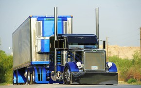 Picture Tuning, Truck, Peterbilt, Vehicle