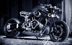 Picture Bike, Custom, Superbike, Motorcycle, Confederate X132 Hellcat, Cafe cruiser