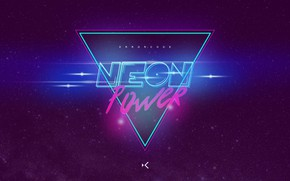 Picture Music, Background, Power, Neon, Synth, Retrowave, Synthwave, New Retro Wave, Futuresynth, Sintav, Retrouve, Outrun, Neon …
